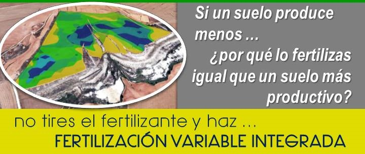 fertilización dosis variable